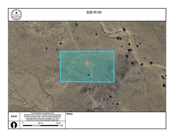 Off Pajarito (Nti) Road SW, Albuquerque, NM 87121 (MLS #996586) :: Sandi Pressley Team