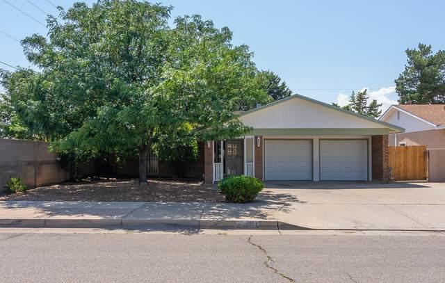 3917 Julie Street NE, Albuquerque, NM 87110 (MLS #996817) :: The Buchman Group