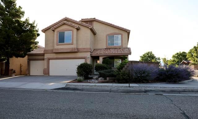 8700 Desert Dawn Drive NE, Albuquerque, NM 87113 (MLS #996909) :: The Buchman Group