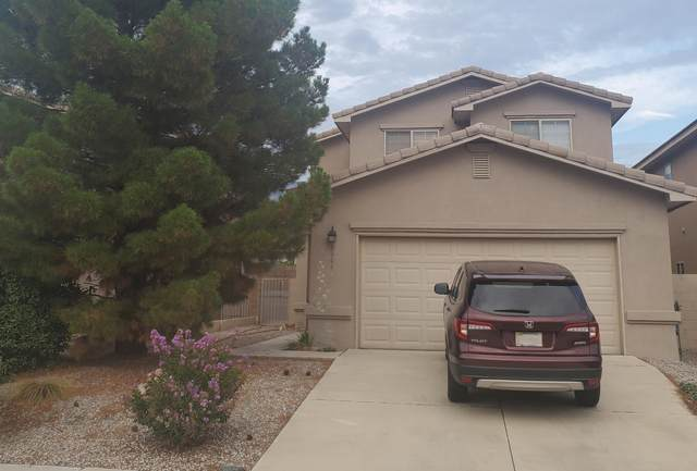8804 Eagle Feather Drive NE, Albuquerque, NM 87113 (MLS #996928) :: Sandi Pressley Team