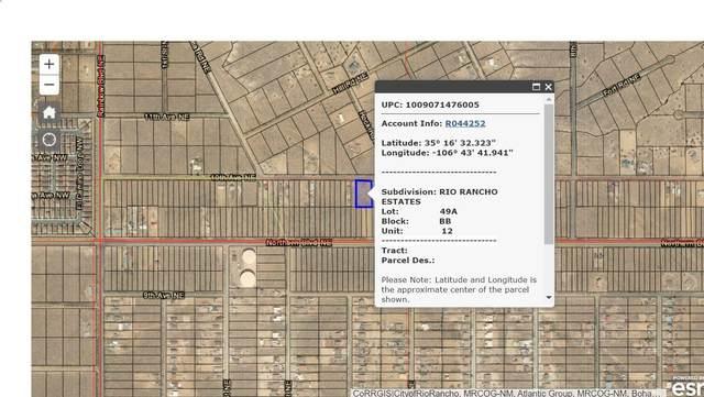 416 10th Avenue NE #12, Rio Rancho, NM 87144 (MLS #997095) :: Sandi Pressley Team