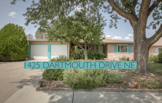 1425 Dartmouth Drive NE, Albuquerque, NM 87106 (MLS #997213) :: Keller Williams Realty