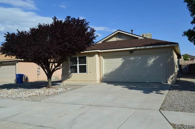 1631 Casa Florida Place NW, Albuquerque, NM 87120 (MLS #997362) :: Keller Williams Realty