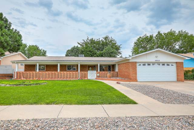 10512 Cielito Lindo Street NE, Albuquerque, NM 87111 (MLS #997512) :: Berkshire Hathaway HomeServices Santa Fe Real Estate