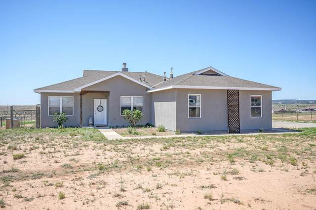 56 Evening Star Loop, Edgewood, NM 87015 (MLS #997593) :: Campbell & Campbell Real Estate Services
