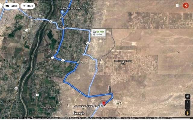 N/A Rio Del Oro, Block 19 Lot 5, Los Lunas, NM 87031 (MLS #997714) :: Campbell & Campbell Real Estate Services