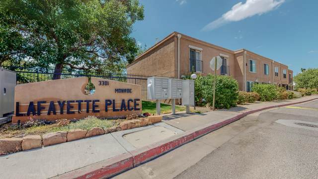 3301 Monroe Street NE A7, Albuquerque, NM 87110 (MLS #997922) :: Campbell & Campbell Real Estate Services