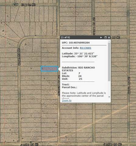 5809 Columbine Road NE, Rio Rancho, NM 87144 (MLS #998154) :: Campbell & Campbell Real Estate Services