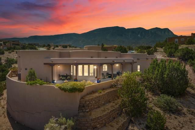 25 Vista De Las Sandias, Placitas, NM 87043 (MLS #998234) :: Campbell & Campbell Real Estate Services