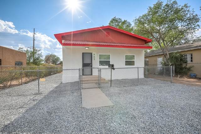 407 Cornell Drive SE, Albuquerque, NM 87106 (MLS #998306) :: Campbell & Campbell Real Estate Services