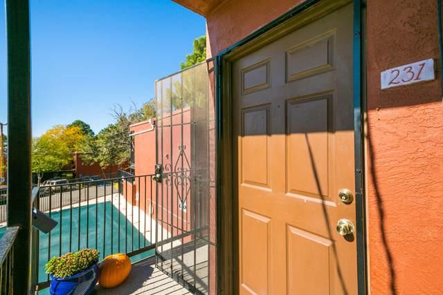 2800 Vail Avenue SE #231, Albuquerque, NM 87106 (MLS #1002798) :: The Buchman Group