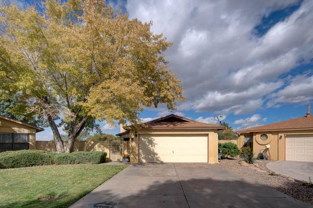 437 Rock Creek Park Avenue NE, Albuquerque, NM 87123 (MLS #1003416) :: The Buchman Group