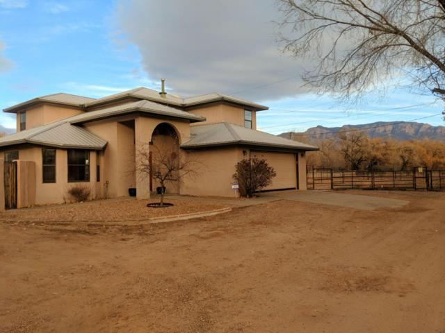589 Valverde Road, Corrales, NM 87048 (MLS #908814) :: Campbell & Campbell Real Estate Services