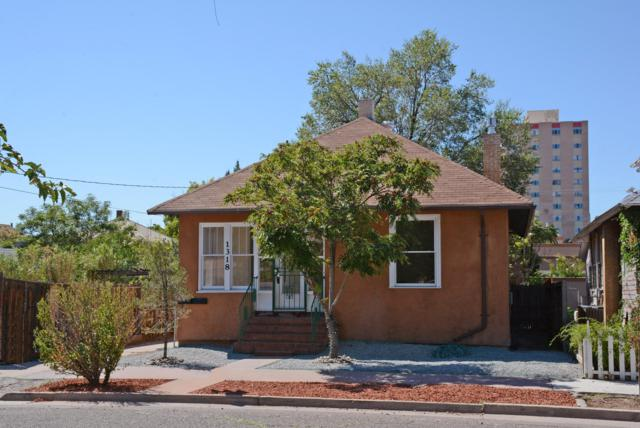 1318 Marquette Avenue NW, Albuquerque, NM 87104 (MLS #928116) :: Campbell & Campbell Real Estate Services