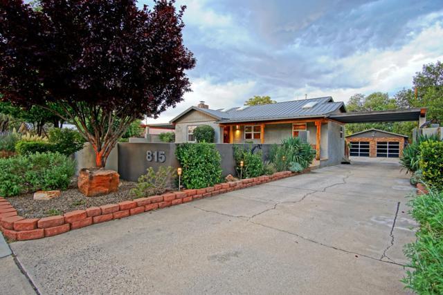 815 Washington Street NE, Albuquerque, NM 87110 (MLS #928587) :: Campbell & Campbell Real Estate Services