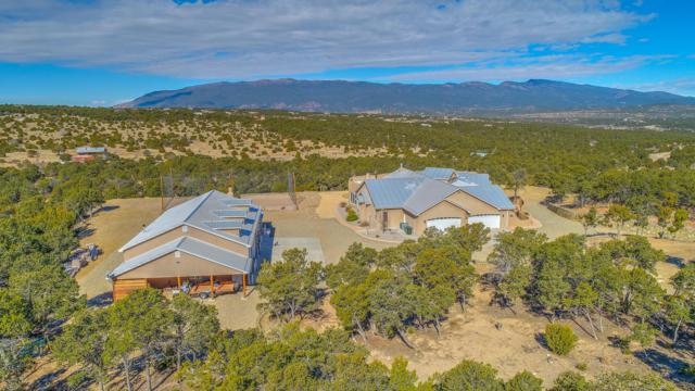 76 Via Sedillo Road, Tijeras, NM 87059 (MLS #940240) :: Campbell & Campbell Real Estate Services