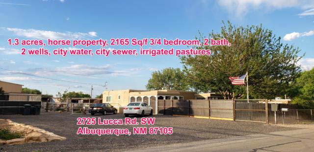 2725 Lucca Avenue SW, Albuquerque, NM 87105 (MLS #945202) :: Campbell & Campbell Real Estate Services