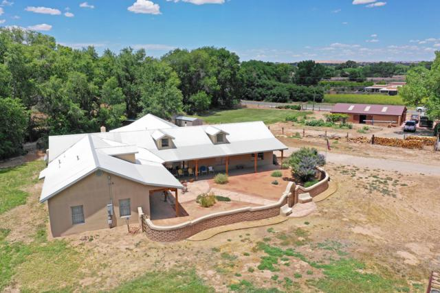 7163 Corrales Road, Corrales, NM 87048 (MLS #949322) :: Campbell & Campbell Real Estate Services
