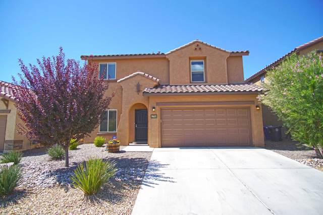 9631 Andesite Drive NW, Albuquerque, NM 87114 (MLS #954187) :: The Bigelow Team / Red Fox Realty
