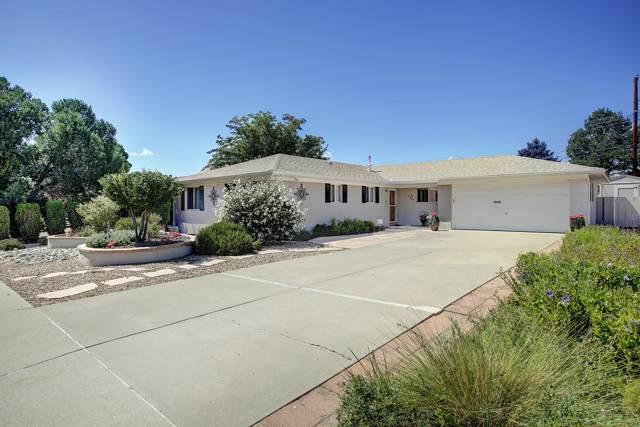 7201 Carriveau Avenue NE, Albuquerque, NM 87110 (MLS #957396) :: Campbell & Campbell Real Estate Services