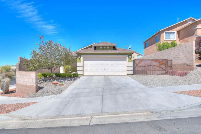 10601 Rockcliff Boulevard NW, Albuquerque, NM 87114 (MLS #968867) :: The Buchman Group