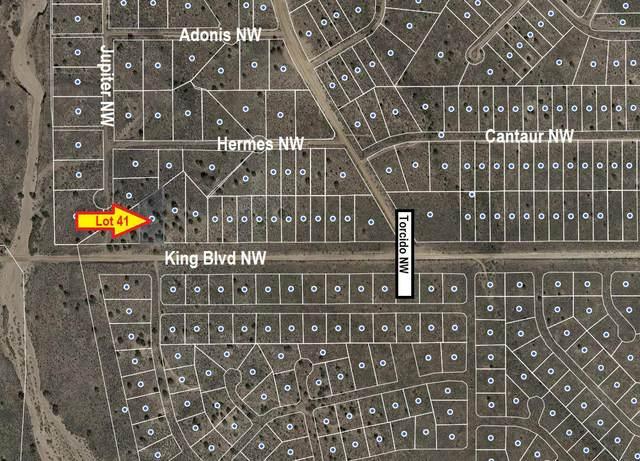 King Boulevard NW, Rio Rancho, NM 87144 (MLS #969340) :: The Buchman Group