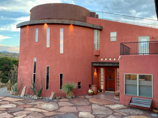 10 Atole Way, Placitas, NM 87043 (MLS #971427) :: The Buchman Group