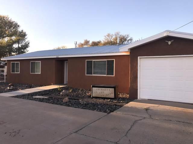 222 Valentin Road, Belen, NM 87002 (MLS #980392) :: The Bigelow Team / Red Fox Realty