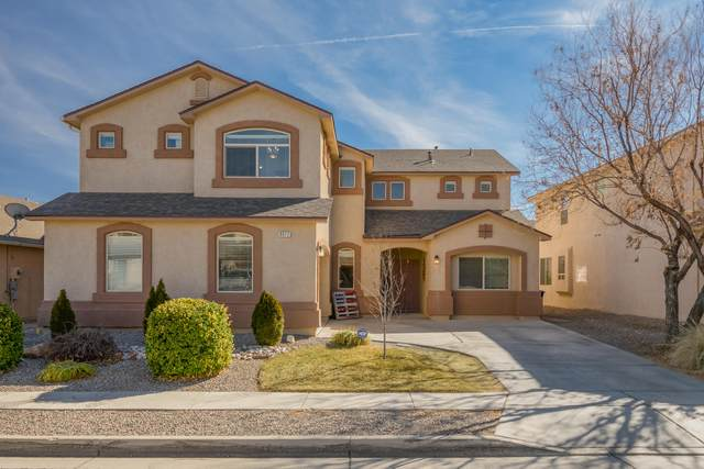 8012 Pony Hills Place NW, Albuquerque, NM 87114 (MLS #985135) :: The Buchman Group