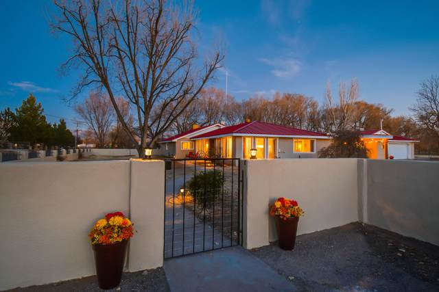 516 Roehl Road NW, Los Ranchos, NM 87107 (MLS #986053) :: Campbell & Campbell Real Estate Services
