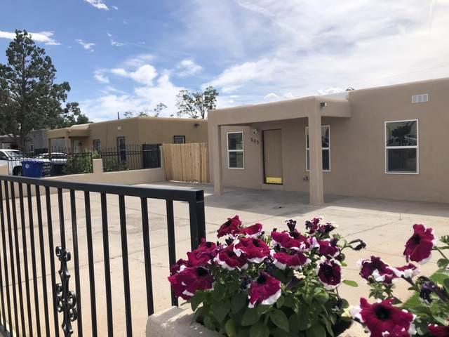 505 San Pedro Drive SE, Albuquerque, NM 87108 (MLS #993479) :: Berkshire Hathaway HomeServices Santa Fe Real Estate