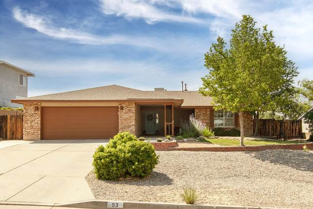 53 Castle Rock Road SE, Rio Rancho, NM 87124 (MLS #994562) :: Campbell & Campbell Real Estate Services