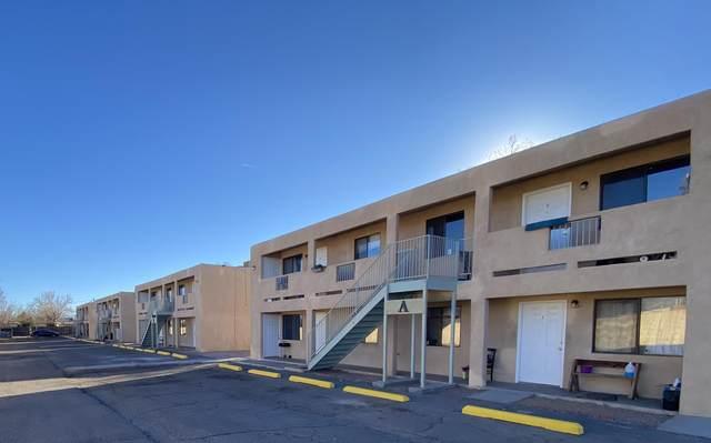 2412 ABCD Rice Avenue NW, Albuquerque, NM 87104 (MLS #996599) :: Sandi Pressley Team