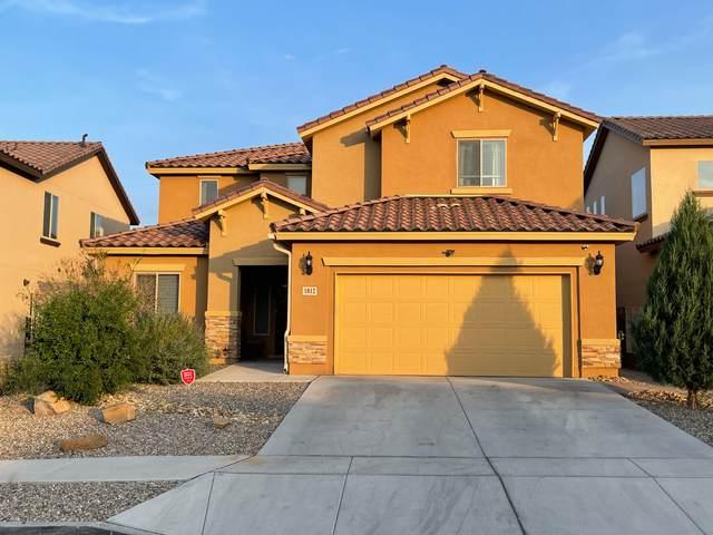 1812 N Cloud Burst Drive NW, Albuquerque, NM 87120 (MLS #997350) :: Sandi Pressley Team