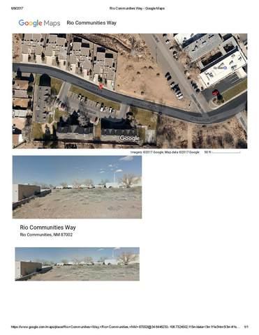 129 Rio Communities Way, Rio Communities, NM 87002 (MLS #894170) :: Berkshire Hathaway HomeServices Santa Fe Real Estate