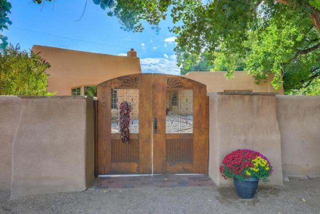1022 Acequia Trail NW, Los Ranchos, NM 87107 (MLS #901678) :: Rickert Property Group