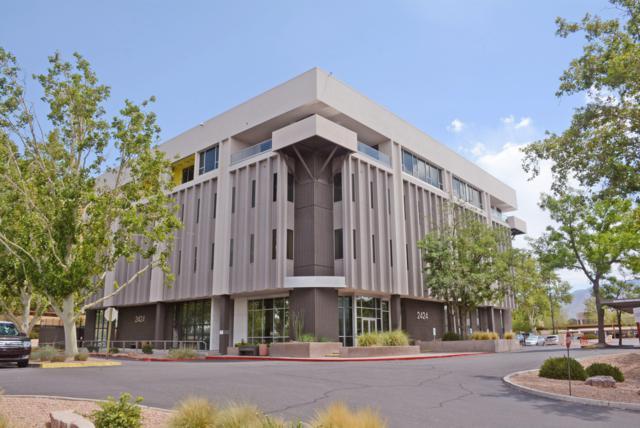 2424 Louisiana Boulevard NE #403, Albuquerque, NM 87110 (MLS #922916) :: The Stratmoen & Mesch Team