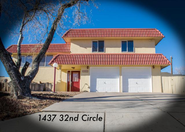 1437 32nd Circle SE, Rio Rancho, NM 87124 (MLS #931632) :: The Stratmoen & Mesch Team