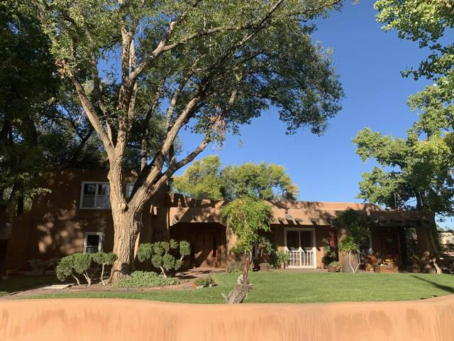 4813 Corrales Road, Corrales, NM 87048 (MLS #962563) :: The Buchman Group