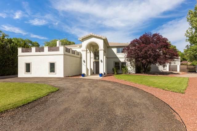 1418 Bonito Suenos Court NW, Los Ranchos, NM 87107 (MLS #968454) :: Campbell & Campbell Real Estate Services