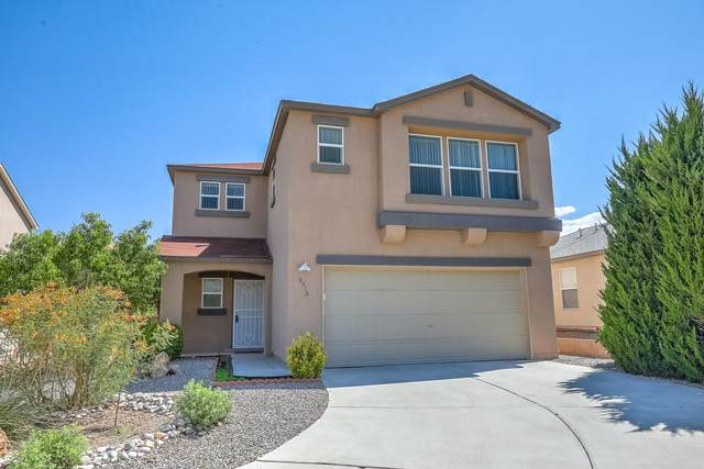 8916 Hatteras Place NW, Albuquerque, NM 87121 (MLS #968543) :: The Buchman Group