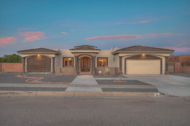 5604 Kimberlite Drive NW, Albuquerque, NM 87120 (MLS #968686) :: The Bigelow Team / Red Fox Realty