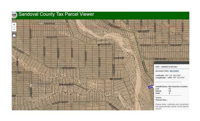 Rio Rancho Estates Block10 Lt6 NE, Rio Rancho, NM 87144 (MLS #969914) :: Campbell & Campbell Real Estate Services