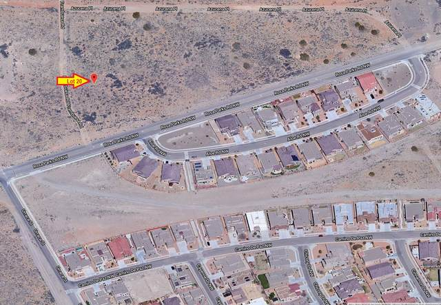 Frambuesa & Rosa Parks Road NW, Albuquerque, NM 87120 (MLS #969969) :: The Bigelow Team / Red Fox Realty