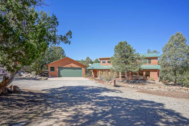 50 El Cedro Lane, Tijeras, NM 87059 (MLS #979677) :: The Bigelow Team / Red Fox Realty