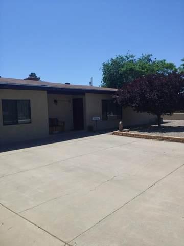 602 & 602 1/2 Franklin Street, Socorro, NM 87801 (MLS #993270) :: The Buchman Group
