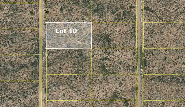 Lot 10 58th Street SW, Rio Rancho, NM 87124 (MLS #995668) :: Keller Williams Realty