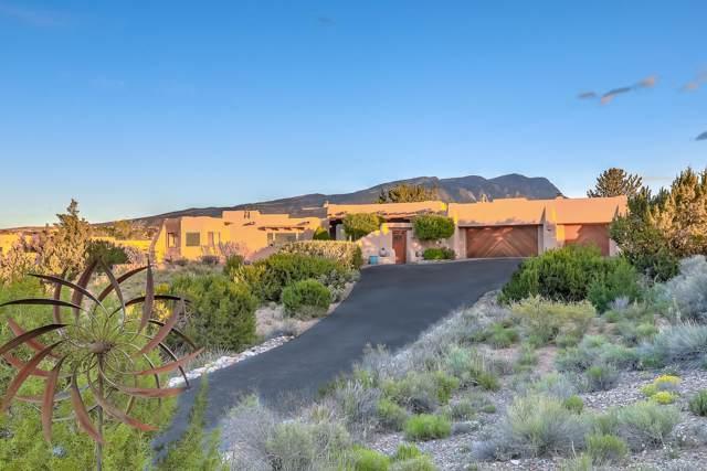 166 Camino Barranca, Placitas, NM 87043 (MLS #944609) :: Campbell & Campbell Real Estate Services