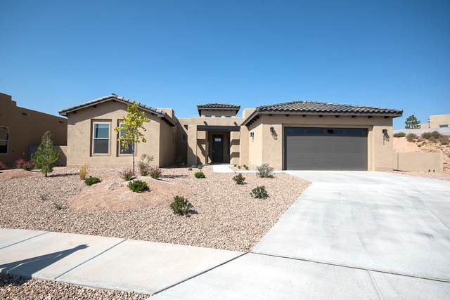 1971 Castle Peak Loop NE, Rio Rancho, NM 87144 (MLS #962291) :: The Bigelow Team / Red Fox Realty