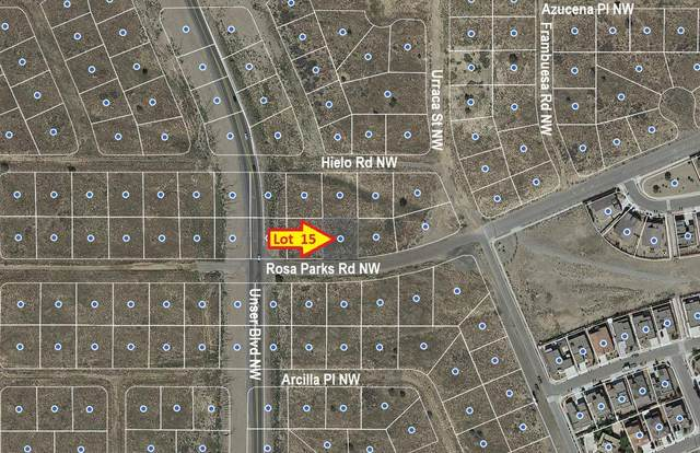 Rosa Parks Road NW, Albuquerque, NM 87120 (MLS #970055) :: The Bigelow Team / Red Fox Realty